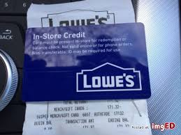 credit 171 32lowes gift card