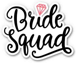 Amazon Com Gt Graphics Express Bride Squad 8 Vinyl Sticker For Car Laptop I Pad Waterproof Decal Home Kitchen