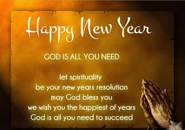 religious christian new year wishes from verses jesus images