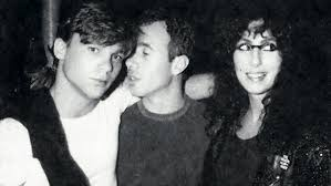 Cher with Steve Antin and David Geffen : cher