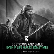 galatta media quote of the day be strong and smile facebook