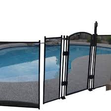 Sentry Safety Pool Fence Ez Guard 5 Tall 10 Long Removable Child Barrier Pool Safety Mesh Fence Black Review Pool Safety Fence Pool Fence Pool Safety