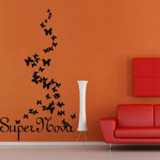Wall Decal Butterflies Flight Insects Beauty Super Words Quote Papillons M311 Ebay