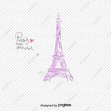 برج ايفل برج ايفل باريس رومانسي Png والمتجهات للتحميل مجانا