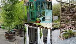 22 Fascinating And Low Budget Ideas For Your Yard And Patio Privacy Amazing Diy Interior Home Design