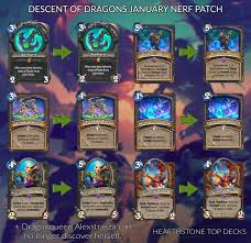 Dragons Post-Second Nerf Meta Decks ...