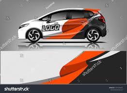 Car Decal Wrap Design Vector Graphic Stock Vector Royalty Free 1371581633