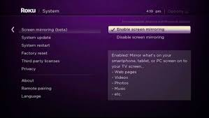 android device s screen on your roku