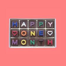 one month anniversary es