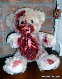 valentines day gift idea zombie teddy