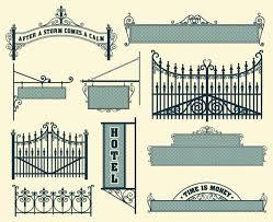 ᐈ Iron Gates Design Royalty Free Wrought Iron Gates Pics Download On Depositphotos