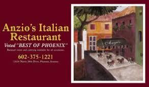Anzio's Italian Restaurant | Phoenix, AZ | Restaurant
