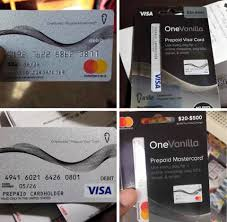 sell onevanilla gift card in Nigeria for cash