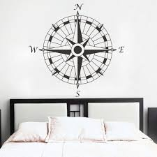 Pin On Nautical Compass Wall Floor Art