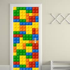 Zoomie Kids Building Blocks Wall Decal Wayfair