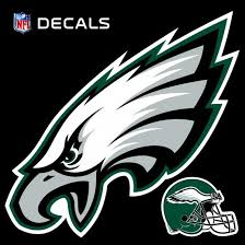 Amazon Com Eagles 12 Logo Decal With Bonus Decal Flat Vinyl Reusable Repositionable Auto Home Football Kitchen Dining