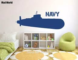 Mad World Navy Ship Army Silhouette Wall Art Stickers Wall Decal Home Diy Decoration Removable Room Decor Wall Stickers Wall Sticker Decorative Wall Stickerswall Art Stickers Aliexpress