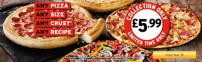 deal pizza hut 5 99 any pizza any