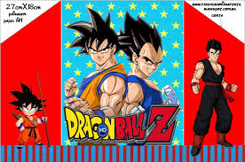 Dragon Ball Z Invitaciones Para Imprimir Gratis Ideas Y