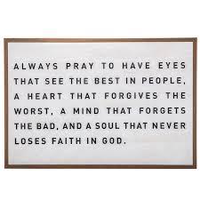 Always Pray Wood Wall Decor Hobby Lobby 1394675