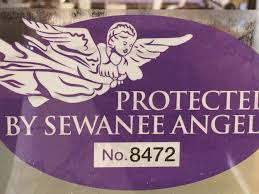 Sewanee Angel Car Decal The Lemon Fair The Lemon Fair Home Of The Sewanee Angel Legend