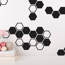 Gold Honeycomb Wall Decals Hexagon Vinyl Wall Decals Honey Comb Vinyl Gold Wall Decor For Gifts Wall Sticker Y170820 Wall Decor Gold Wall Decordecoration For Gift Aliexpress