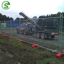 China Heavy Duty Galvanised 2 1 2 4m Temporary Yard Fence Lowes China Temporary Fence Standards 4 Foot Temporary Fence