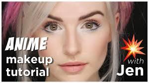anime makeup tutorial with jen you