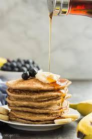 easy banana oatmeal pancakes recipe
