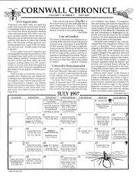 Cornwall Chronicle July 1997