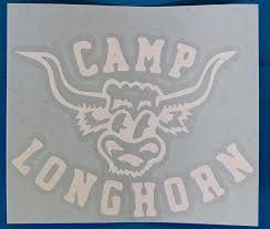 Charlie Vinyl Decal Merit Store Camp Longhorn