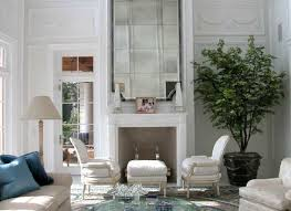 34 mirrors above fireplace high ceiling