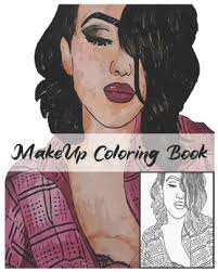 makeup coloring book makeup face