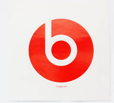 3 Inch Vinyl Decal Sticker From Beats By Dr Dre Headphones Red 775 00001 00 B Ebay