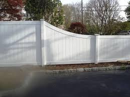 Pin By Salem Fence Co On Vinyl Fence Vinyl Privacy Fence Vinyl Fence Landscaping Backyard Fences