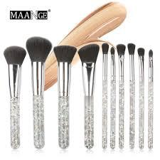 maange liquid glitter makeup brushes