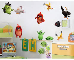 Kawaii Birds Wall Stickers For Kids Rooms Baby Home Decoration Anime Posters Cartoon Wall Decal Art Game Wall Paper Kids Nursery Sticker For Kids Room Wall Stickers For Kidsbird Wall Sticker Aliexpress
