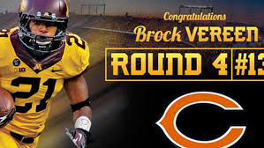 NFL Draft 2014: Safety Brock Vereen Drafted By The Chicago Bears In The 4th  Round - The Daily Gopher