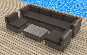 outdoor backyard wicker rattan patio