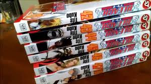 bleach manga unboxing volumes 42 48