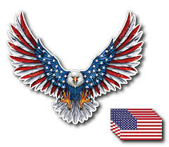 Mexican Flag Eagle States Aguila Decal Car Window Laptop Vinyl Sticker Escudo