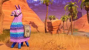 fortnite llama wallpaper hd wallpaper