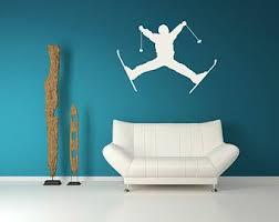 Ski Lift Wall Decal Etsy
