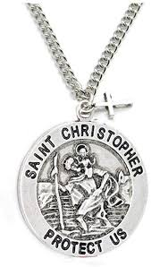 creations st christopher patron saint
