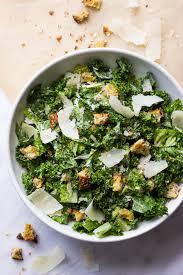 kale caesar salad little broken
