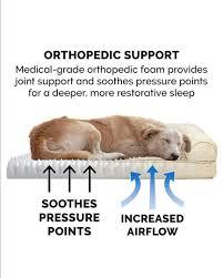 furhaven orthopedic dog cat sofa bed