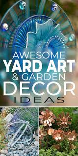 yard art garden decoration ideas