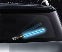 Reflective Lightsaber Windshield Wiper Tag Dudeiwantthat Com