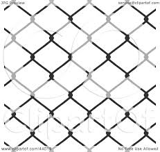 Clipart Illustration Of A Background Of Chain Link Fencing On White By Arena Creative 44019