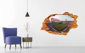 Philadelphia Phillies Stadium Wall Decal Egraphicstore